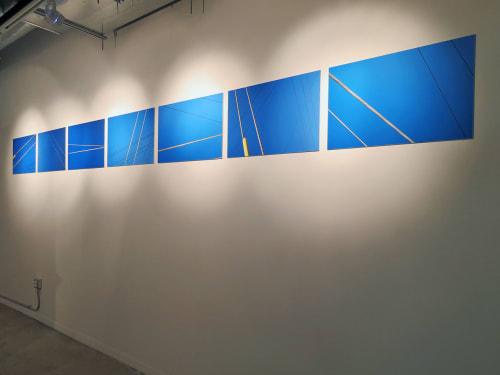 Photography by Patricia Van Dalen seen at Artmedia Gallery, Wynwood, Miami, FL, Miami - Electric Blue