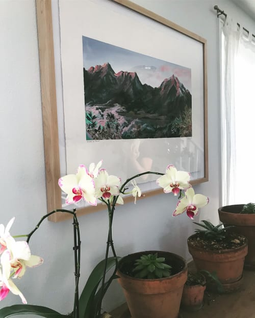 Paintings by Noelle Phares at Private Residence, Denver - Tamano