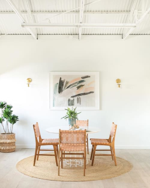 Paintings by Lauren Packard Art seen at Private Residence, Newport Beach - Minted Print