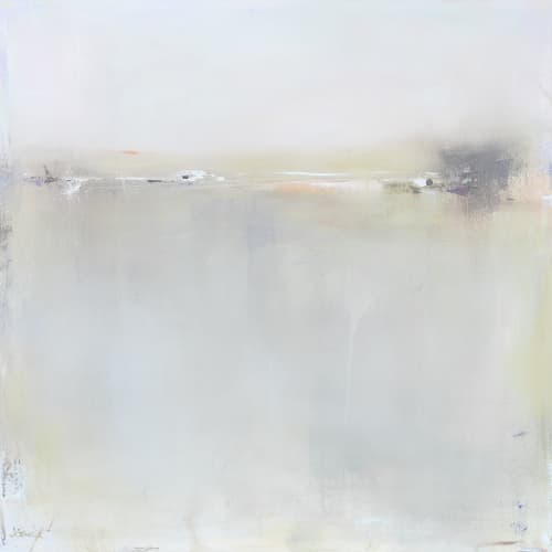 Paintings by Jacquie Gouveia seen at Private Residence - Spring Fog I