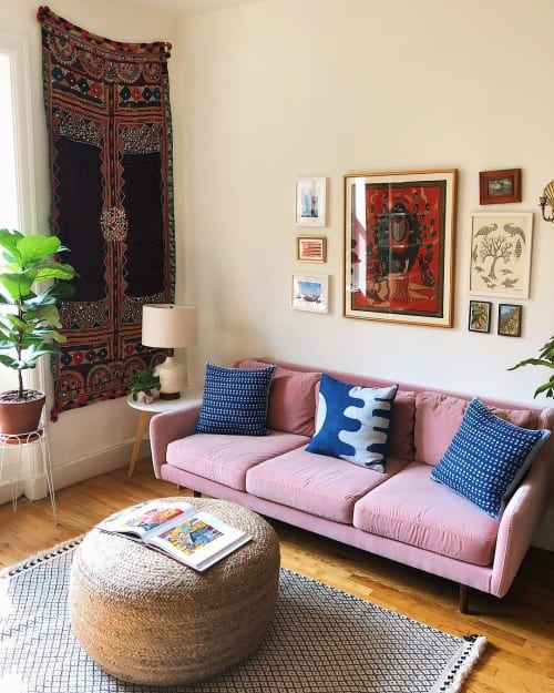 Rugs by Sunday / Monday by Nisha Mirani and Brendan Kramer seen at Private Residence, New York - Rann Rug