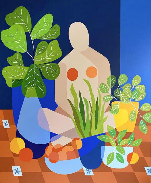 Paintings by Natalia Juncadella seen at San Francisco, San Francisco - Domingo en Casa
