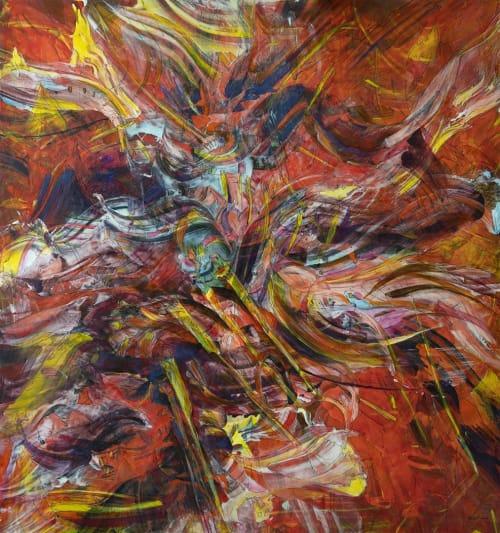Paintings by Lennon Michalski seen at Lexington, Lexington - Abstraction