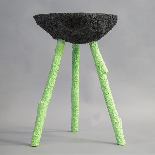 Chairs by Gavin Stanley Keightley seen at Plymouth, Plymouth - Couscous Stool