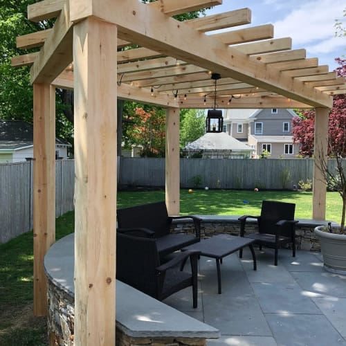 Furniture by Paul Charette at Private Residence, Needham - Pergola