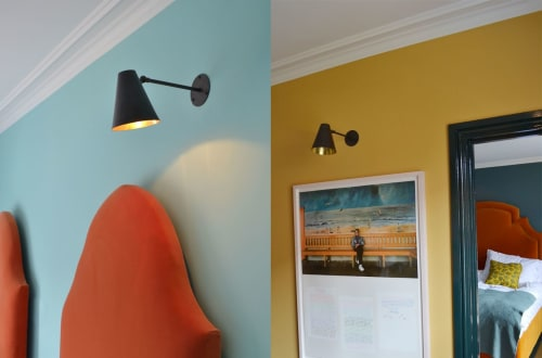 Sconces by Fosbery Studio seen at The Rose, Deal - Wall Sconce