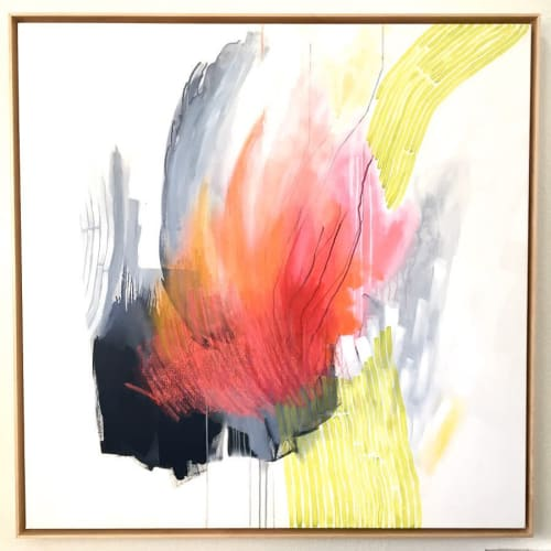 Paintings by Sara Schroeder Art seen at Private Residence, Miami - Abstract Painting