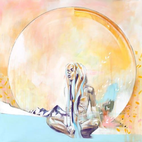 Paintings by Hannah Adamaszek seen at Creator's Studio - Wild Honey