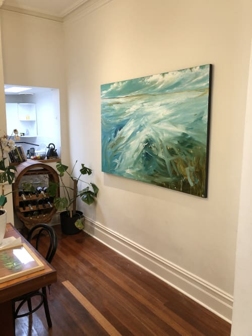 Paintings by Tania Chanter seen at Private Residence, Brunswick - Coastal Drift