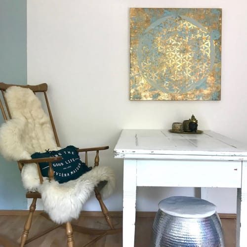 Paintings by Natalia Schaefer seen at Private Residence, Paderborn - Flower of Life