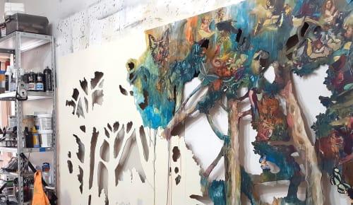 Luis Bivar - Art Curation and Public Sculptures