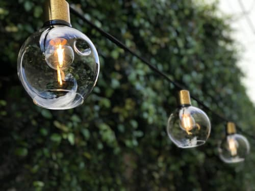 Lighting by Neptune Glassworks seen at Private Residence, San Francisco - Festoon Lights