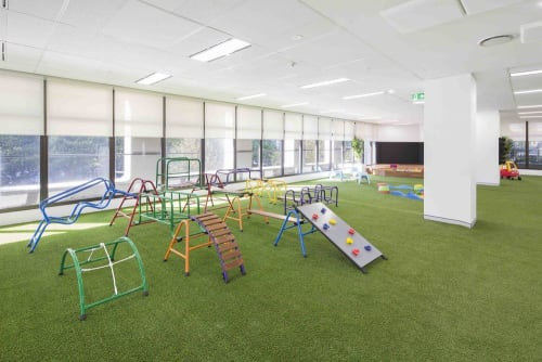 Interior Design by Strutt Studios seen at Little Genius Academy - One York Childcare, Sydney - Playhouse