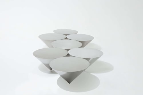Tables by 1Nayef Francis seen at Private Residence, Beirut - Bulbul