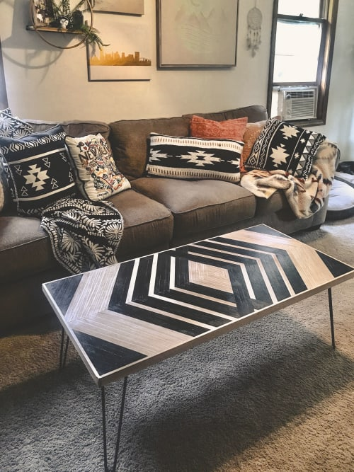 Tables by Gerber Design Co seen at Private Residence, Hartford - Southwestern Coffee Table