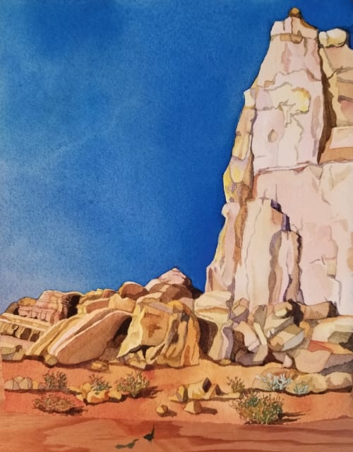 Paintings by Beth Shadur seen at Private Residence, Highland Park - Arches Tor
