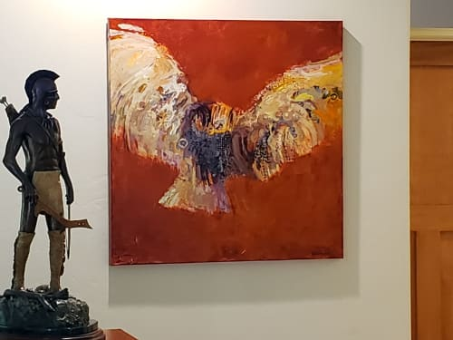 Paintings by Shelli Walters Studio seen at Private Residence, Menlo Park - Into The Unknown