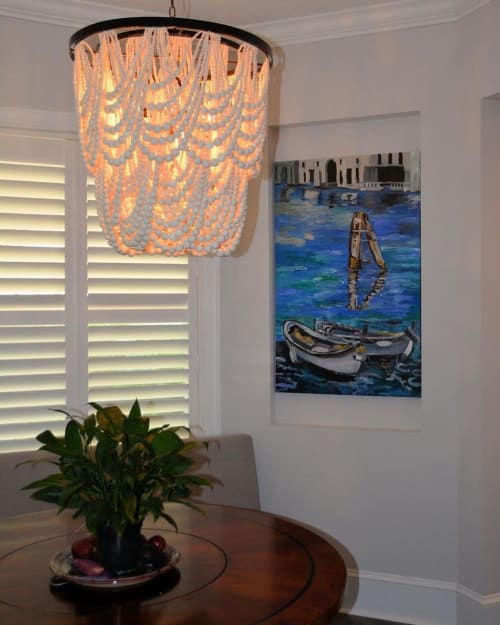 Paintings by Caroline Karp Artist seen at Private Residence, Tampa - Briccola