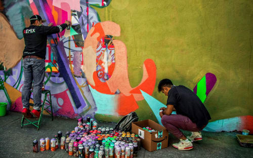 Remix Uno - Murals and Art