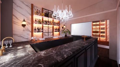 Interior Design by Studio Hiyaku seen at Saint Ives, Saint Ives - Bar Design
