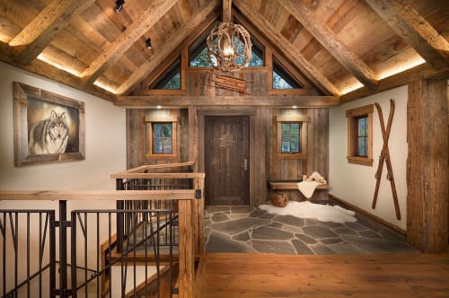 Private Residence, Tahoe City, Homes, Interior Design
