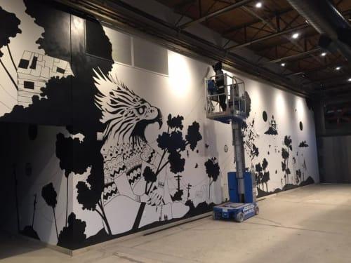 Axel Geittmann - Murals and Art