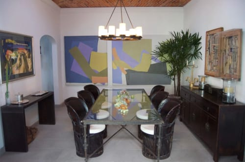 Paintings by Lynne Gleason seen at Private Residence, San Miguel de Allende - Equanimity