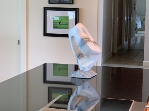 Sculptures by Rock and A Soft Place Studios - Transition Boundary