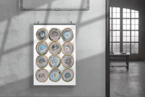 The Circle Game 4 | Paintings by Lori-Ann Bellissimo & Cartissi