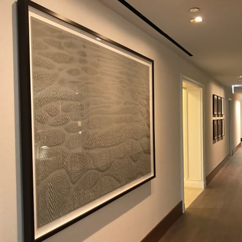 Wall Hangings by Rachel Doniger seen at The Ritz-Carlton, Chicago, Chicago - Paper Reliefs