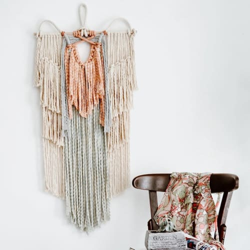 Macrame Wall Hanging by Ranran Design by Belen Senra seen at Private Residence - Macrame Wall Art