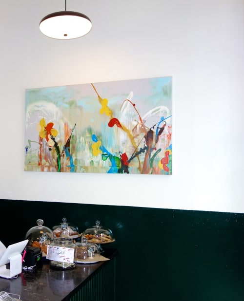 Paintings by Daniel Phill seen at Tilden Hotel, San Francisco - Portea