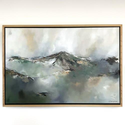 Paintings by Monika Kralicek seen at Private Residence, Portland - Ground