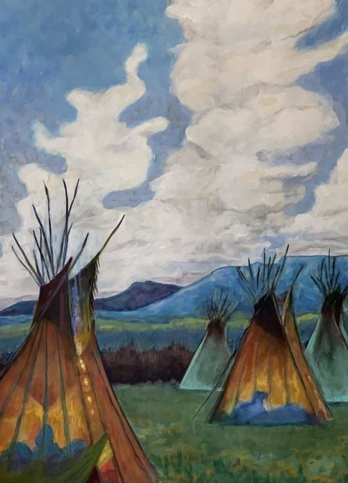 Paintings by Lisa Butters - Summer Camp