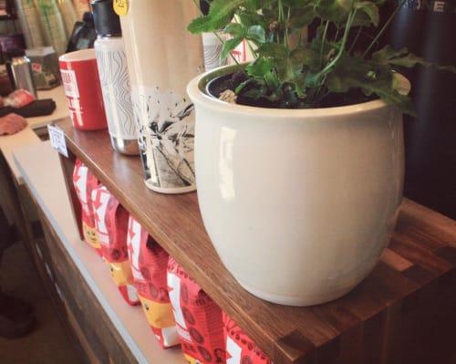 Vases & Vessels by Krista Cortese Ceramics seen at Equal Exchange Espresso, Shoreline - Porcelain Vases