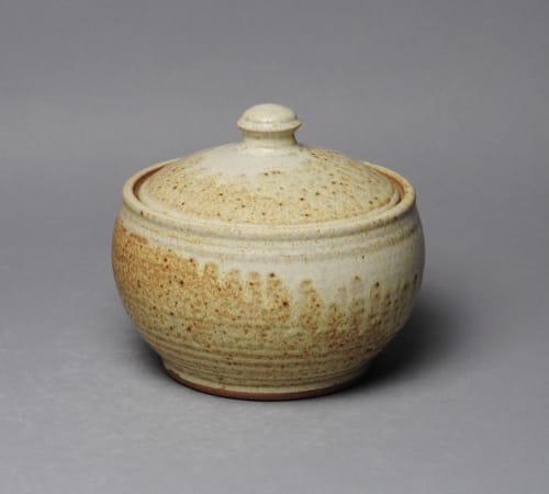 Tableware by John McCoy Pottery seen at Creator's Studio, West Palm Beach - Casserole