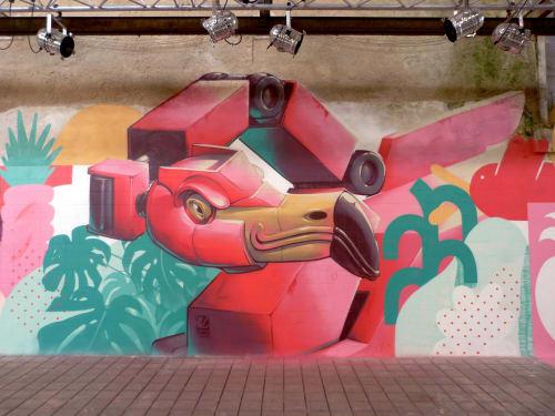Third Rua - Street Murals and Murals