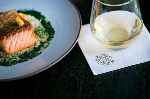 Tableware by Jono Pandolfi seen at MacArthur Place Hotel & Spa, Sonoma - Ceramic Dinnerware