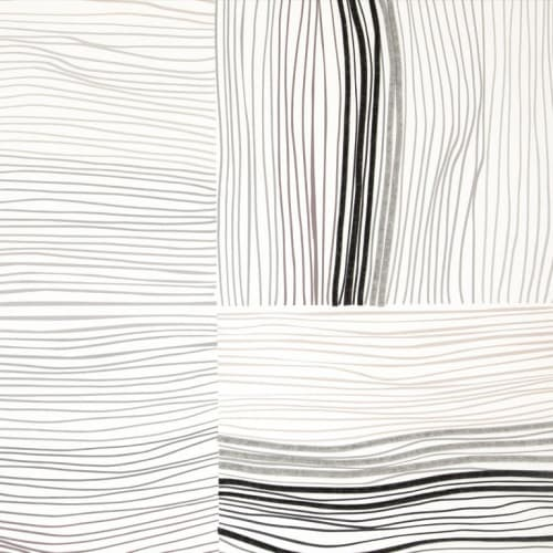 Nest   Dimensional Felt   Wallpaper by Jill Malek Wallpaper