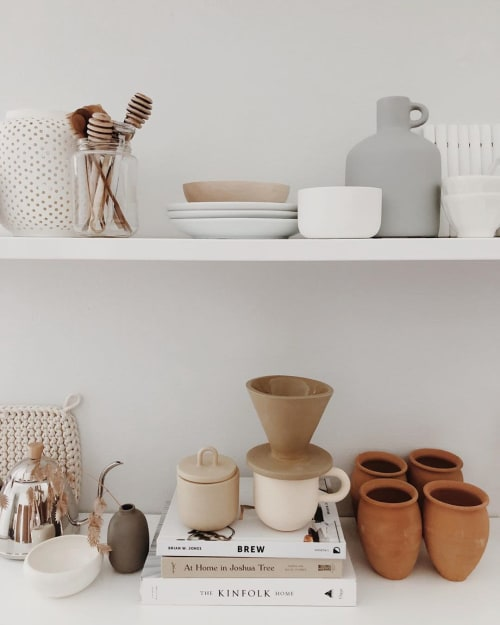Tableware by Stephanie Intelisano seen at Private Residence, Sioux Falls - Stowaway Canister