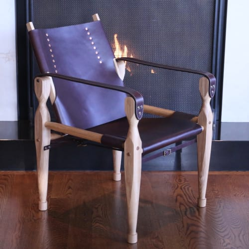 Chairs by McIntyre Furniture LLC seen at Private Residence, Bellevue - Roorkee Chair
