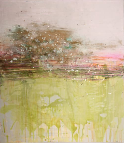 Paintings by Kei Gratton seen at Minneapolis, Minneapolis - Sea in Gold