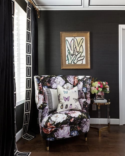 Chairs by Clarke & Clarke seen at Private, Residence, Houston, Houston - Chair Fabric