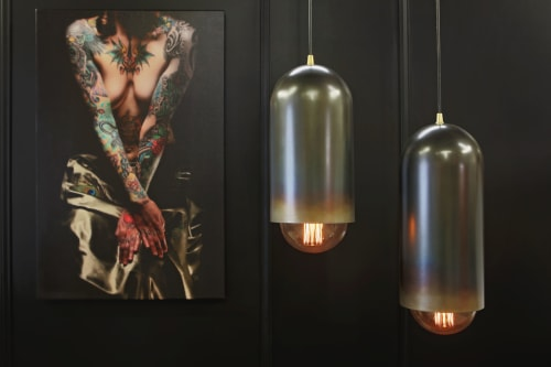 John Beck Steel - Pendants and Sconces