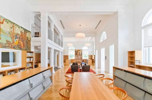 Chandeliers by CP Lighting at Mamaroneck Public Library, Mamaroneck - ExtraDouble Chandelier