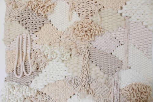 Macrame Wall Hanging by Emily Barton Design seen at Creator's Studio, Greenville - Clouds