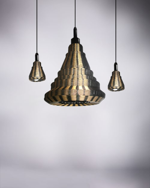 Pendants by PATAPiAN seen at Creator's Studio, Nakhon Nayok - Round Pendant Lighting Collection