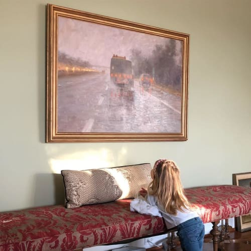 Paintings by Rob Longley Fine Art seen at Private Residence, Delaplane - Oil Painting