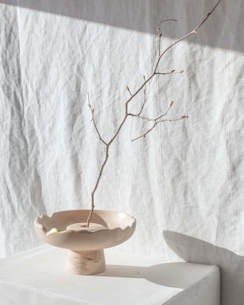 Vases & Vessels by Whirl & Whittle - Siaa Ikebana-Style Vase #2