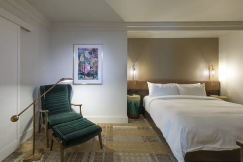 The Elizabeth Hotel, Autograph Collection, Hotels, Interior Design